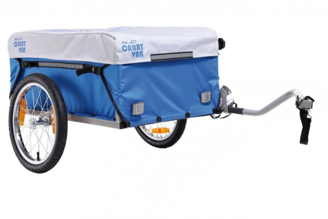 Transportvagn Silver/Blå Cykelvagn